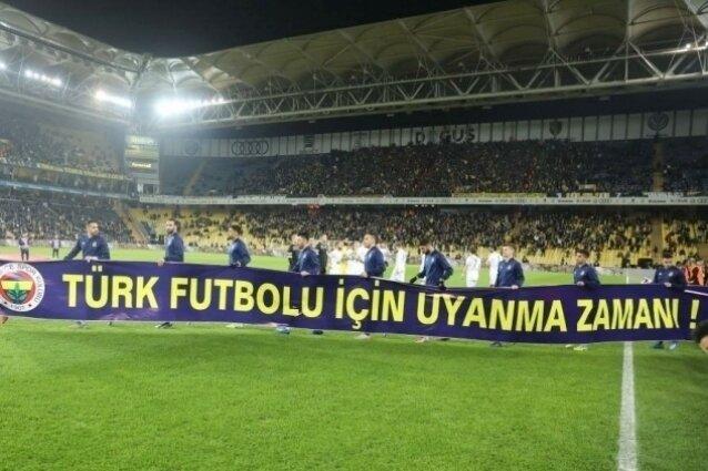 Fenerbahçe'ye pankart cezası; 24 bin TL!